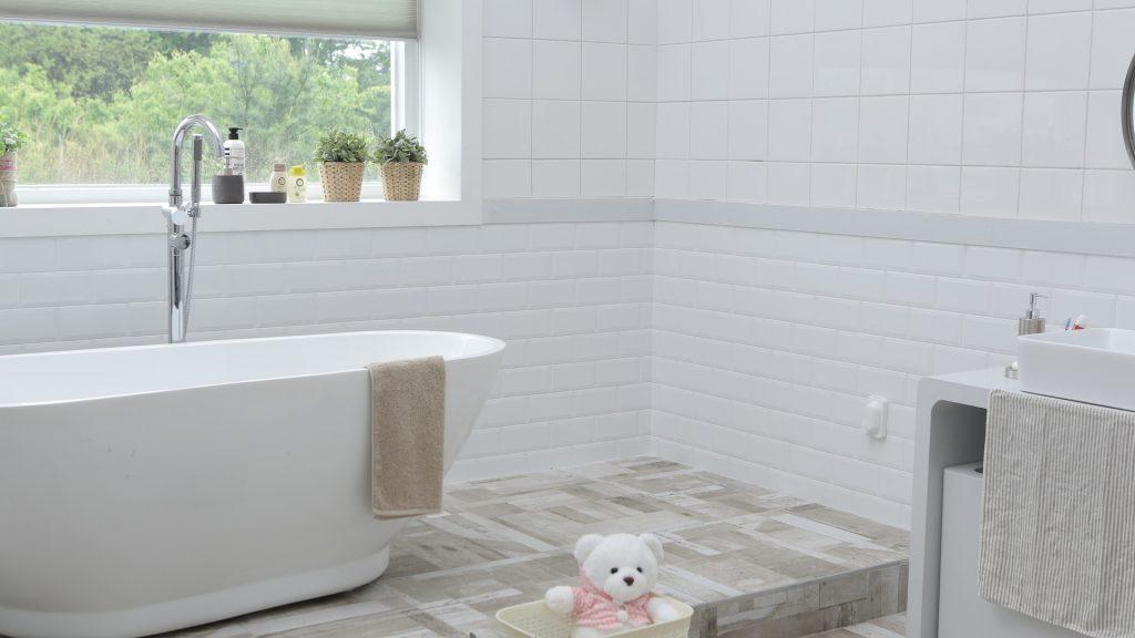 Badkamer vloer zelf leggen